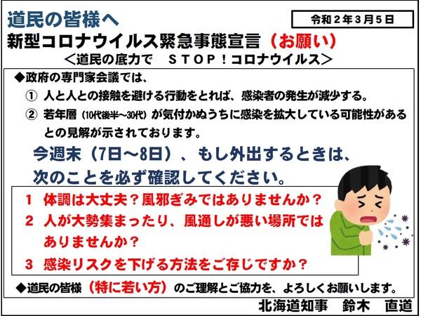 北海道 コロナウイルス